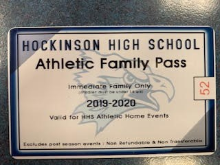 ATHLETIC PASSES